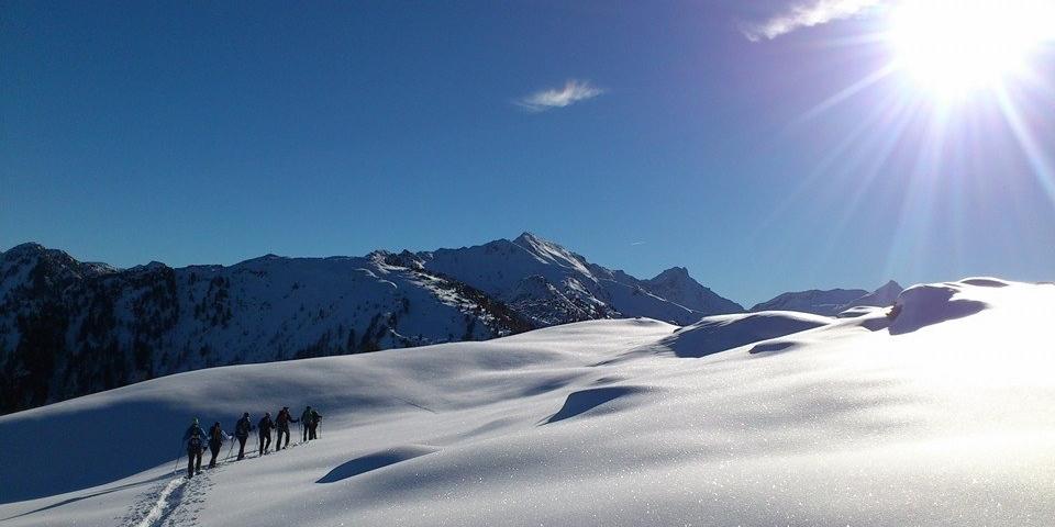 mit Schneeschuhen unbeschreibliche Momente in der Natur geniessen